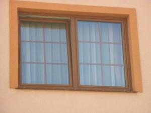 okno pcv w bloku mieszkalnym w centrum Szczecina