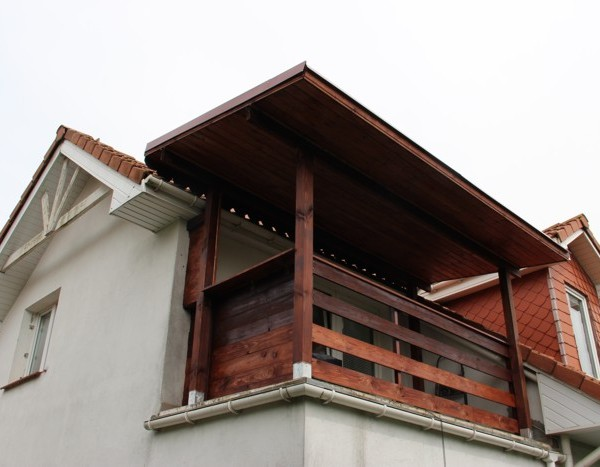 zabudowa tarasu w jednorodzinnym domu
