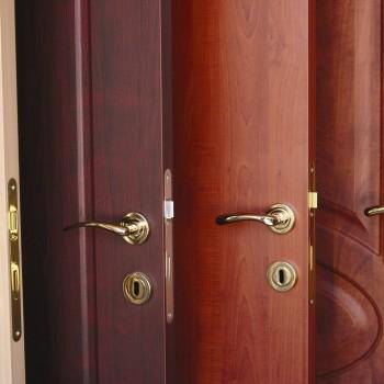 Drzwi zewnętrzne o różnej struktórze