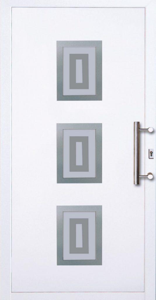 Drzwi pojedyńcze jasne zewnętrzne Szczecin