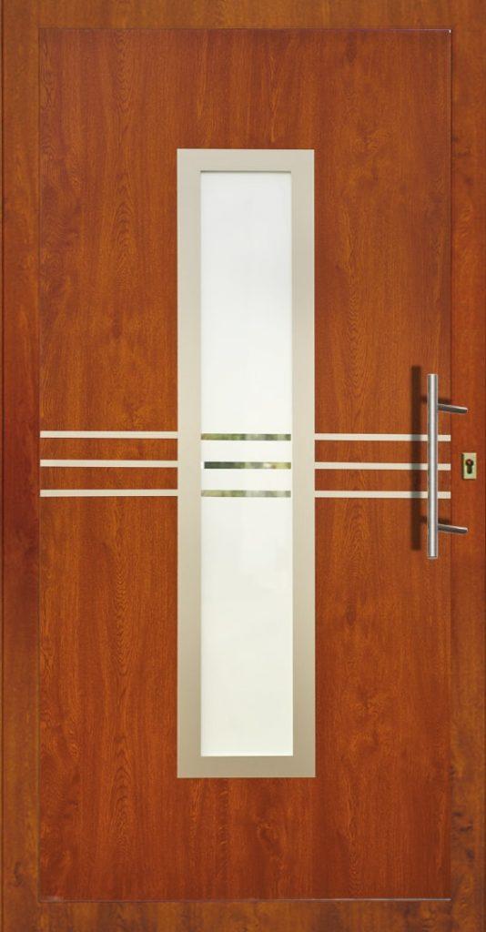 Drzwi zewnętrzne ze szkłem Szczecin