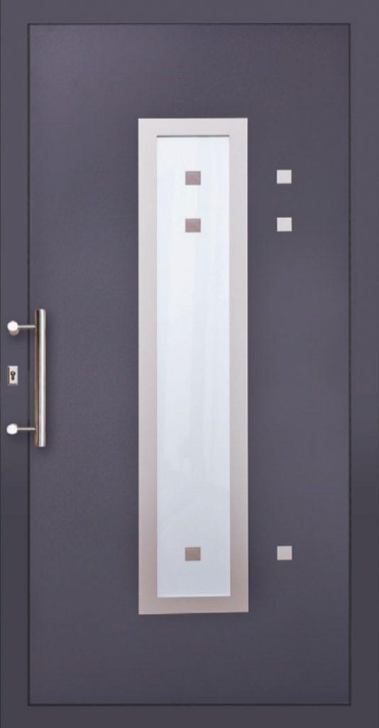 Bordowe drzwi wewnętrzne Szczecin